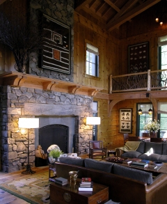 Main Lodge Room to NW vert