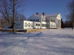 Main House Winter